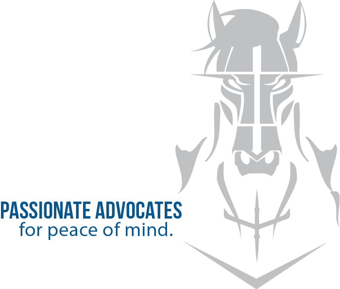 WGB slogan: Passionate Advocates for Peace of Mind.