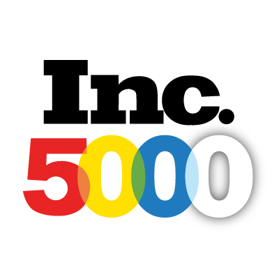 Inc. 5000 Fastest Growing Private Companies in America award logo